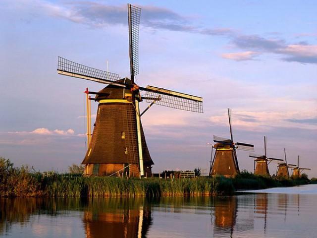 мельницы, Нидерланды