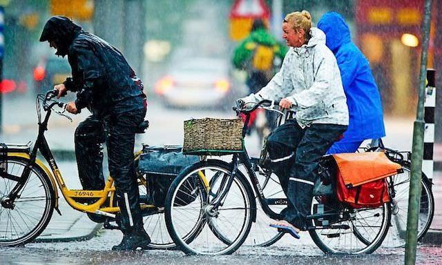 Дождь голландцам не помеха