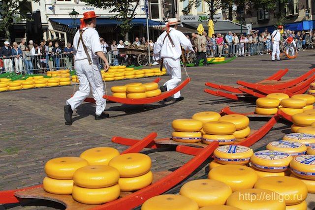 Сырный рынок в Алкмаар
