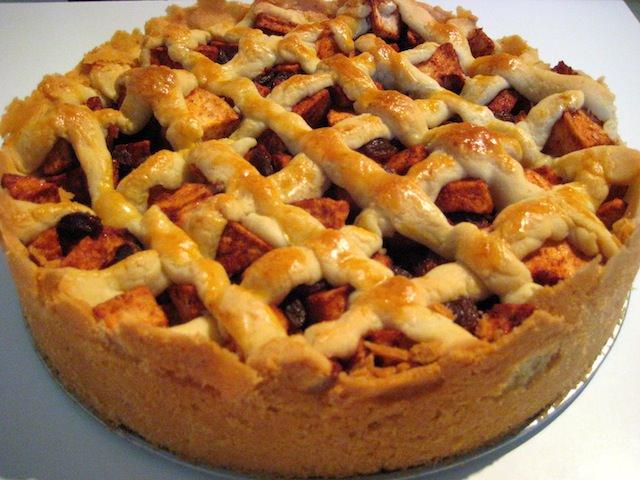 яблочный пирог по-голландски