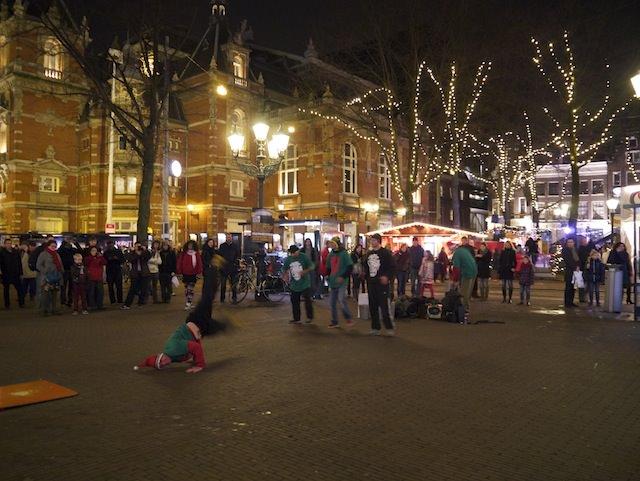 Площадь Амстердама Leidseplein