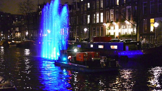 Парад огней, Амстердам