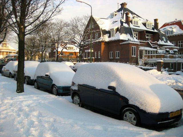 снежные сугробы