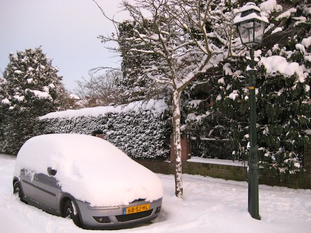 Нидерланды в снегу