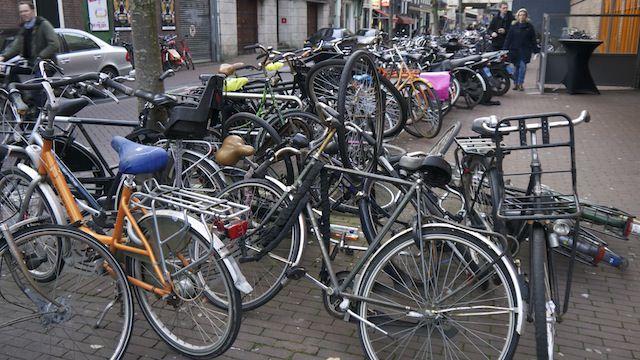 парковка велосипедов