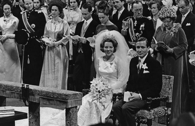 свадьба Беатрикс с принцем Клаусом