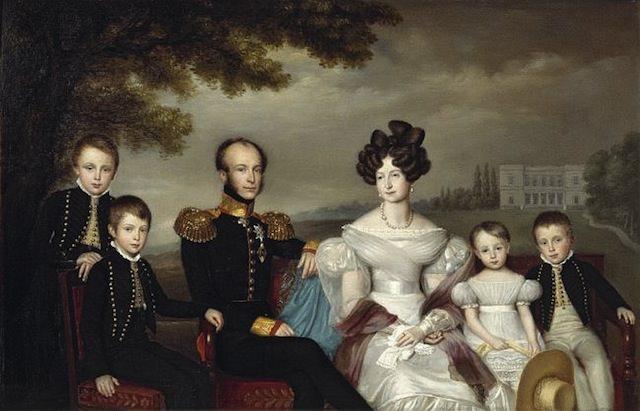 Король Вильгельм II и Анна Павловна