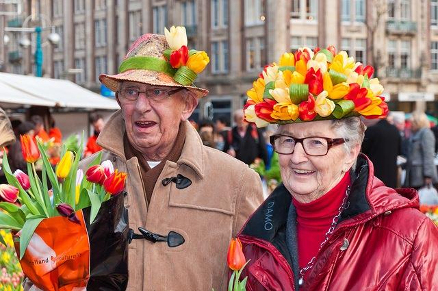 участники Дня тюльпанов