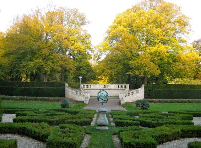 старо-голландский сад