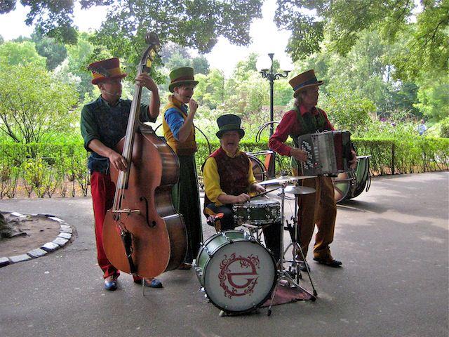 местный оркестр