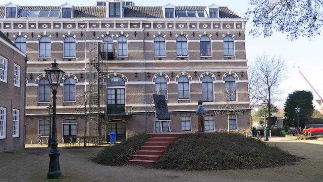 Площадь Рембрандта в Лейдене