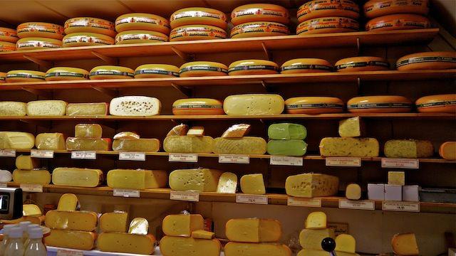 сырный магазинчик