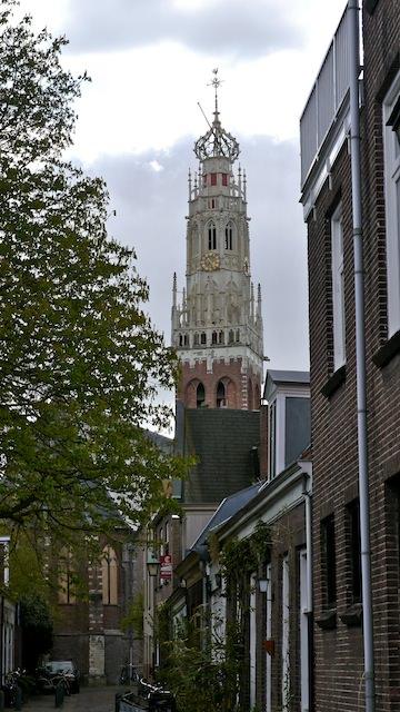 колокольня церкви св. Бавона