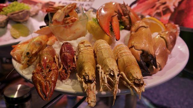 рыбные блюда ресторана