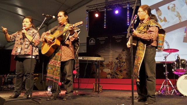 концерт артистов из Индонезии