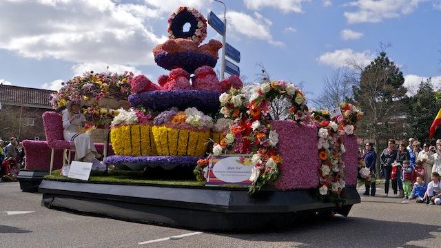 парад цветов 3013 в Голландии
