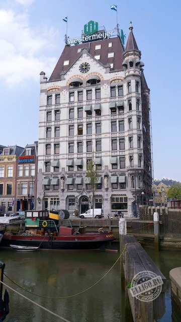 Белый дом, Роттердам, White house Rotterdam