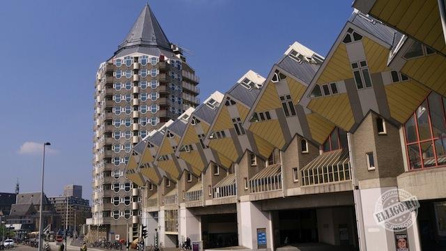 Кубические дома, Роттердам, Rotterdam