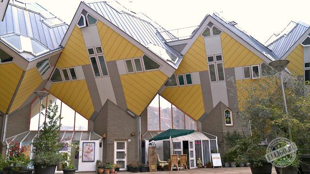 Кубические дома в Роттердаме-04