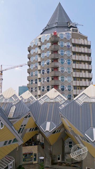 Кубические дома в Роттердаме-11