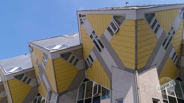 Кубические дома Kubuswoningen-002