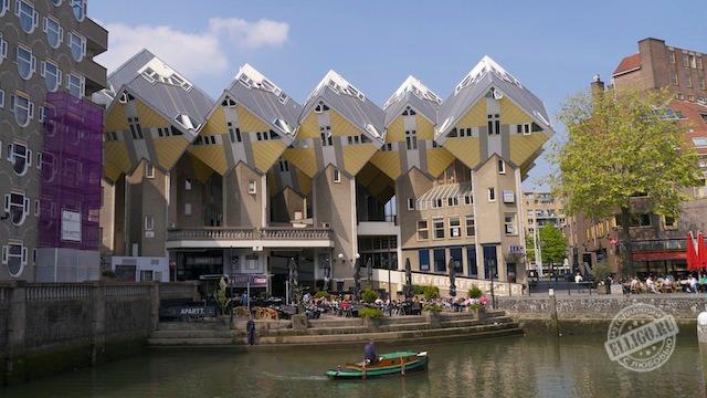 Кубические дома (Kubuswoningen) в Роттердаме