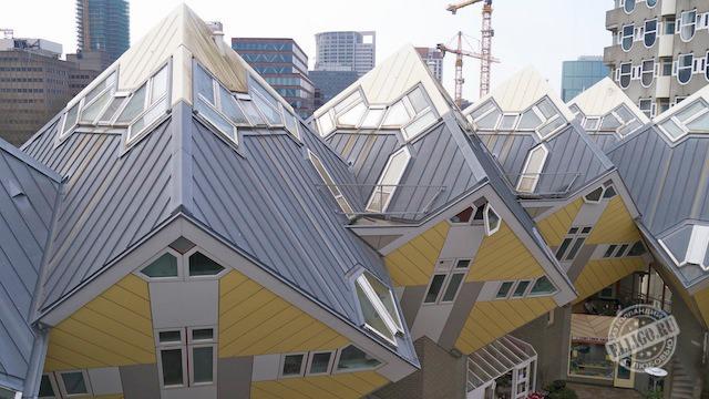 Кубические дома Kubuswoningen