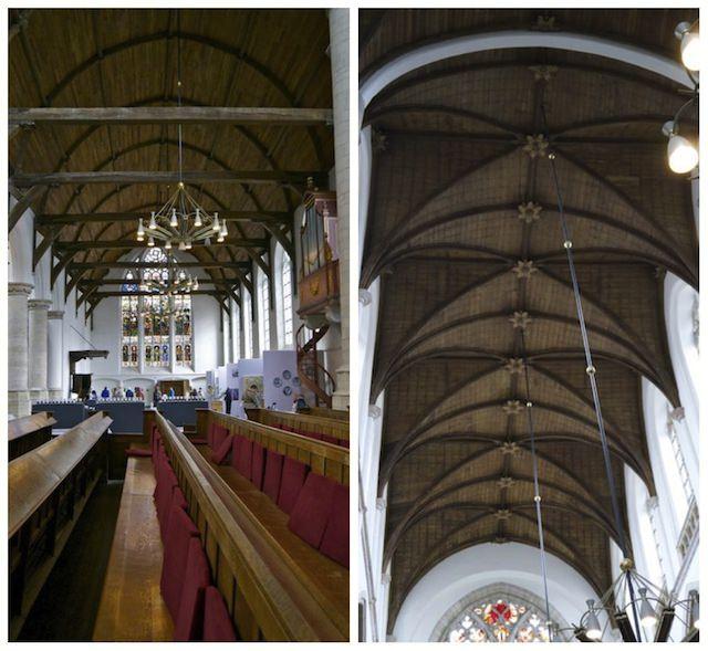 потолки в Старой церкви