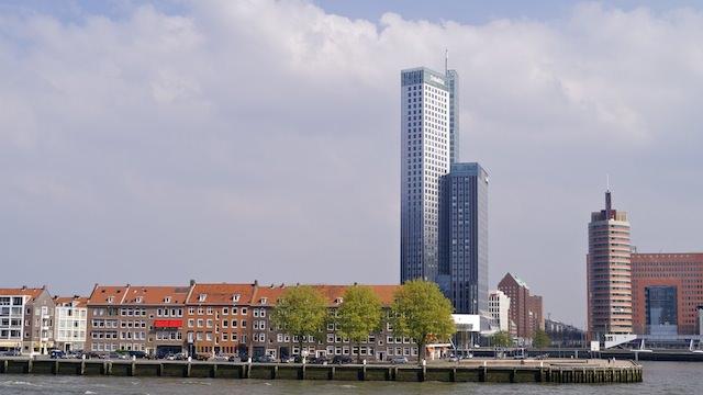 Небоскреб Maastoren, Роттердам