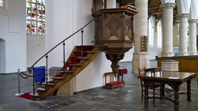 кафедра проповедника, Старая церковь