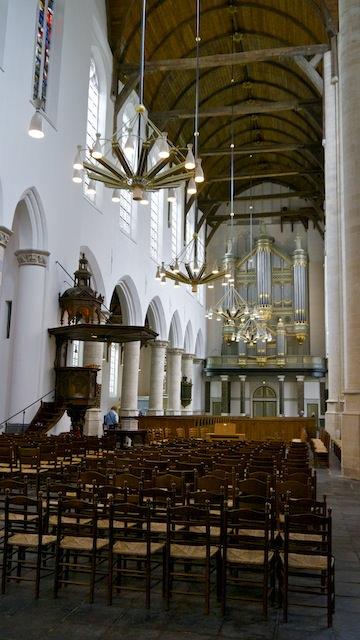 Интерьер Старой церкви, Делфт