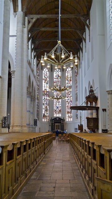интерьер в Старой церкви, Делфт