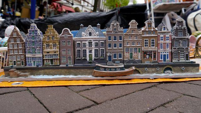 голландская мини-улица, Делфт