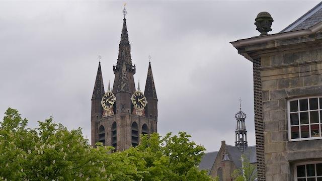 Башня Старой церкви, Делфт