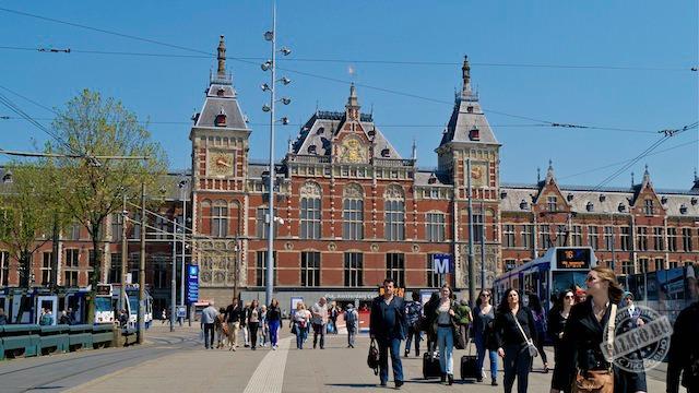 Центральный вокзал Амстердама-04