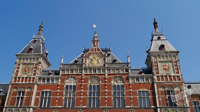 Центральный вокзал Амстердама-05