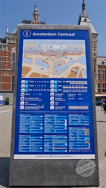 Центральный вокзал Амстердама-10