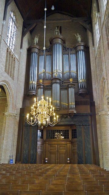 орган в Новой церкви Делфта