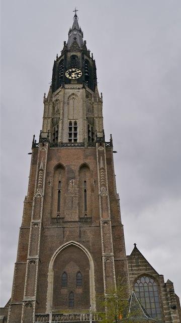 башня Новой церкви в Делфте