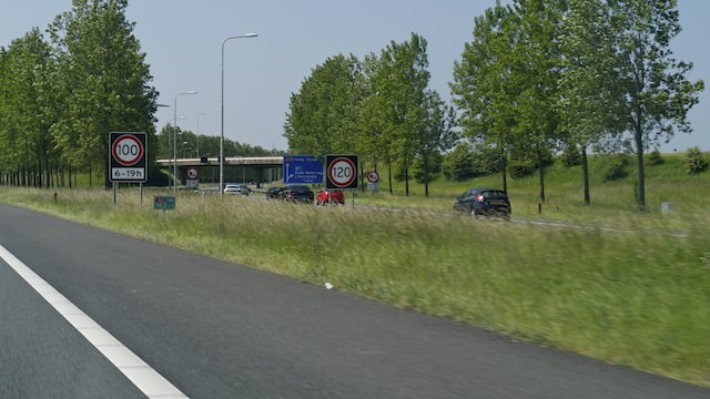 дороги с разной максимально разрешенной скоростью