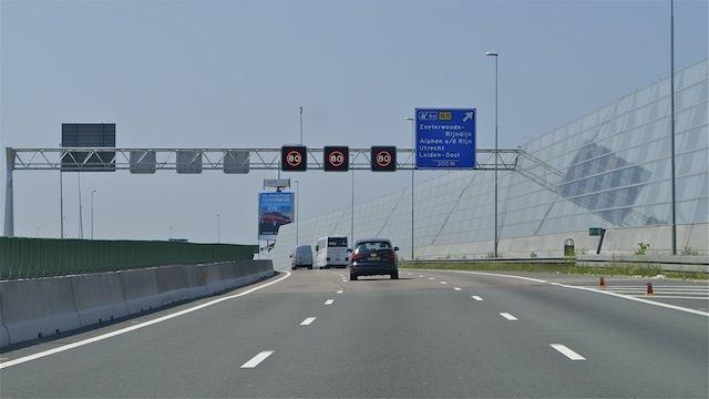 звукоизоляционные заграждения в Нидерландах