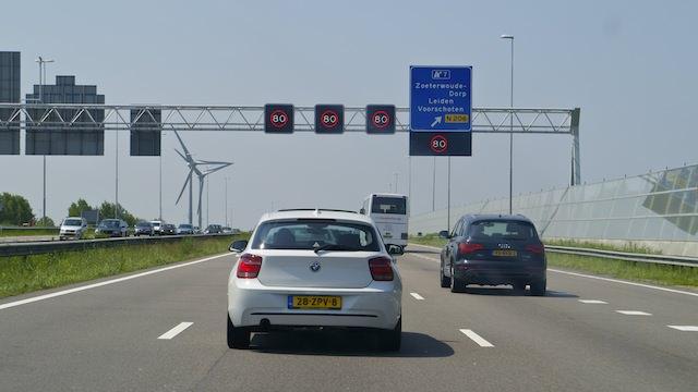 ограничители скорости в Нидерландах