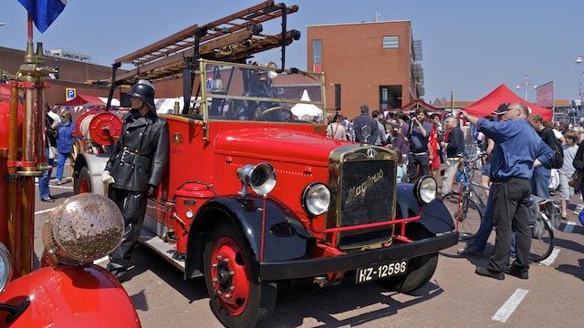 старинные пожарные машины
