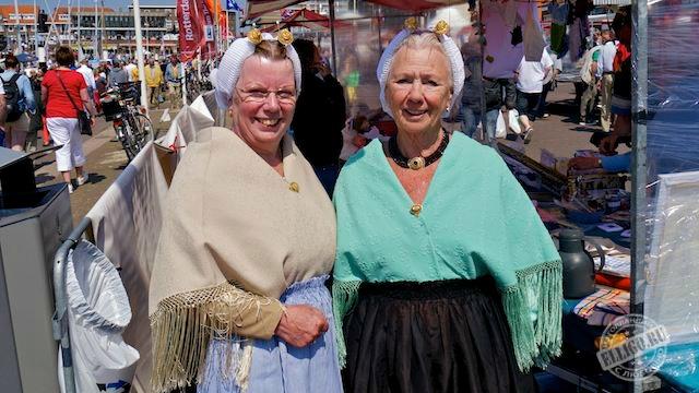 vrouwen van vissers, Scheveningen