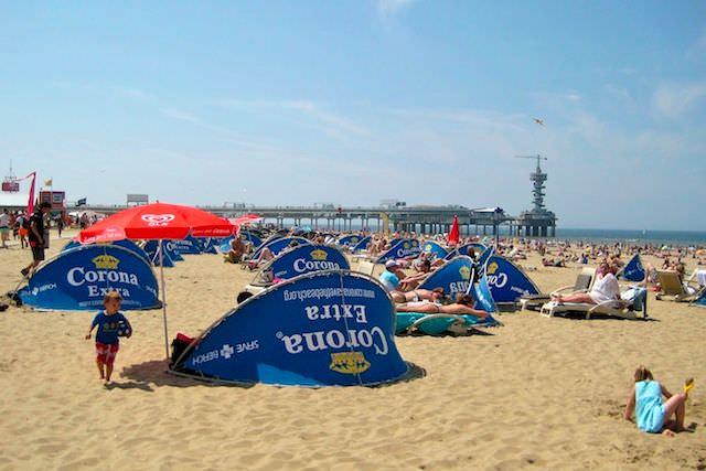 ширма от ветра на пляже