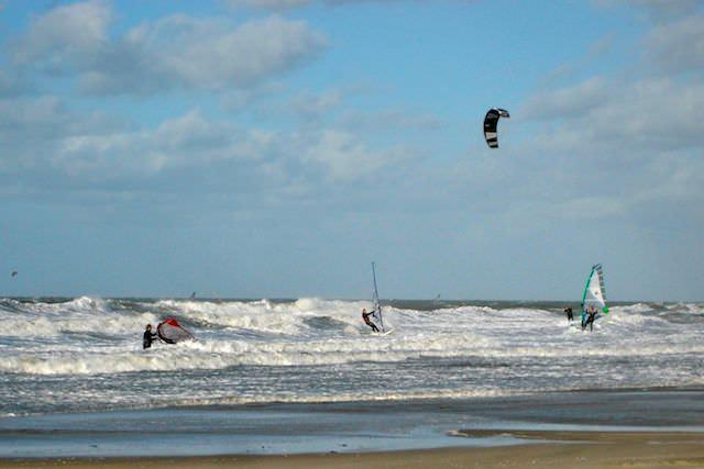 Северное море - рай для серфинга