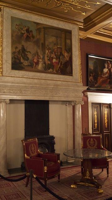 внутреннее убранство дворца