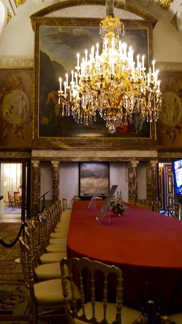 Зал Моисея в Королевском дворце