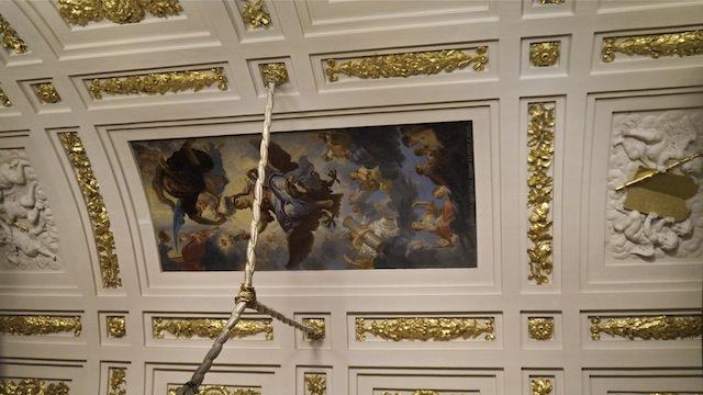 роспись на потолке в зале Моисея