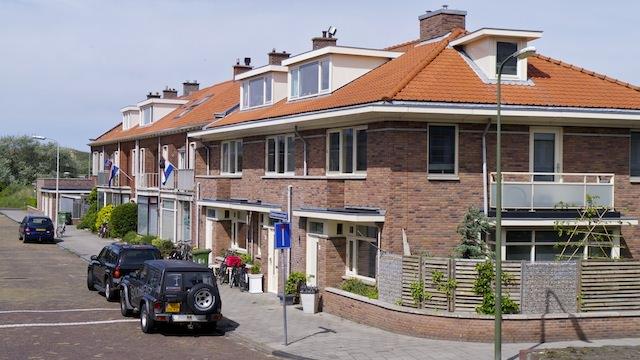 голландский флаг с рюкзаком
